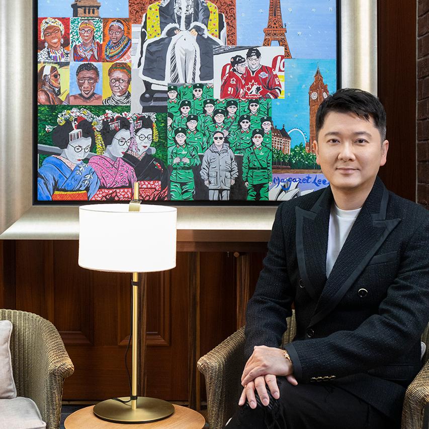 焦点访谈溥仪眼镜创办人及行政总裁邱子杰先生